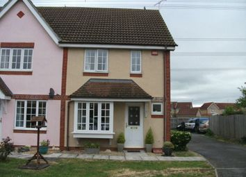Thumbnail 2 bed terraced house to rent in Dudwell, Didcot