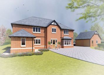 Thumbnail 5 bed detached house for sale in Pinewood Road, Ashley Heath, Market Drayton