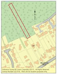 Thumbnail Land for sale in Land 164 Macdonald Road, Lightwater, Surrey