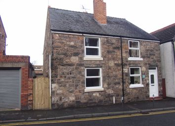 Thumbnail 3 bed semi-detached house to rent in Castle Street, Caergwrle, Wrexham