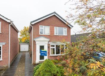 Thumbnail 3 bed detached house for sale in Thornton Close, Easingwold, York