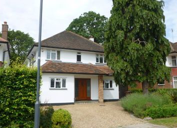 Thumbnail 4 bed detached house to rent in Moss Lane, Pinner