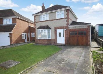 Thumbnail 3 bed detached house for sale in Denbigh Close, Lawn, Swindon