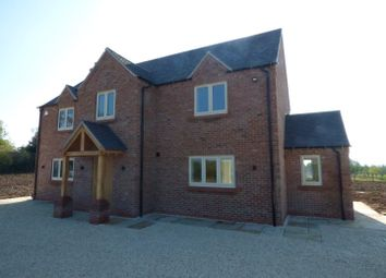 Thumbnail 4 bed detached house to rent in Grangewood, Netherseal, Swadlincote