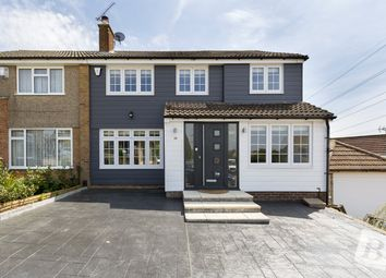 Thumbnail 5 bedroom semi-detached house for sale in Pepper Hill, Northfleet, Gravesend, Kent