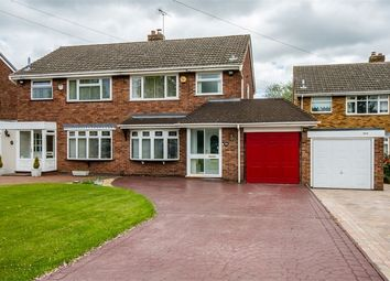 Thumbnail 3 bed semi-detached house for sale in Wood End Road, Wednesfield, Wolverhampton, West Midlands