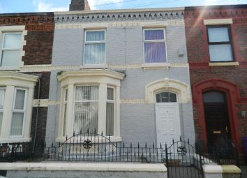 Thumbnail 3 bed terraced house to rent in Miriam Road, Liverpool