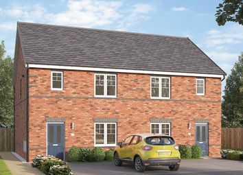 "Thumbnail 3 bed semi-detached house for sale in ""The Northbridge Semi "" at Etwall Road, Mickleover, Derby"