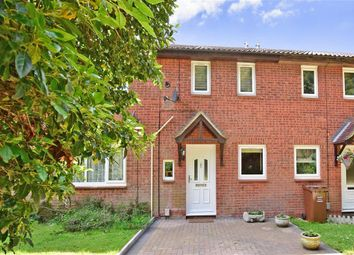 Thumbnail 2 bed terraced house for sale in Weybridge Close, Lords Wood, Chatham, Kent