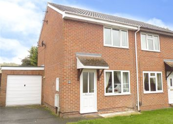 Thumbnail 2 bed semi-detached house for sale in Burnet Close, Swindon