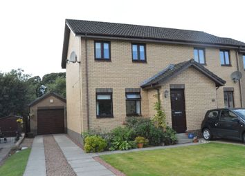 Thumbnail 2 bed semi-detached house for sale in Avonside Dr, Denny, Falkirk