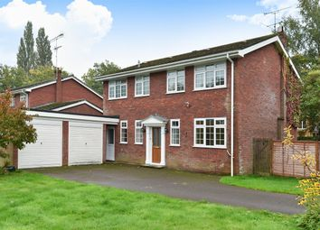Thumbnail 4 bed detached house for sale in Coppice Gardens, Crowthorne, Berkshire