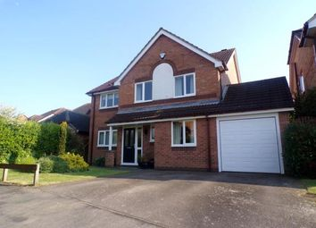 Thumbnail 4 bed detached house for sale in Raine Way, Oadby, Leicester