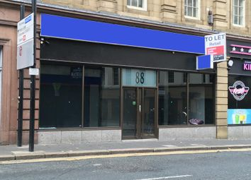 Thumbnail Retail premises to let in 88 Westgate Road, Newcastle Upon Tyne, Tyne & Wear