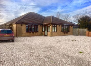 Thumbnail 4 bed detached bungalow for sale in Chapel Lane, Friskney, Boston