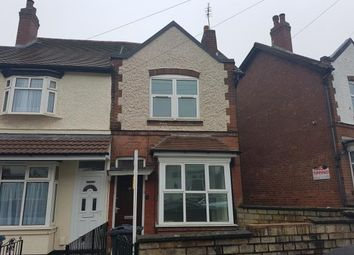 Thumbnail 2 bed end terrace house for sale in Haseley Road, Handsworth, Birmingham