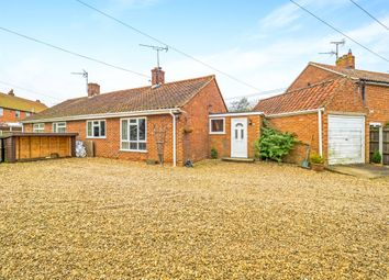 Thumbnail 2 bedroom semi-detached bungalow for sale in North View Drive, Whissonsett, Dereham