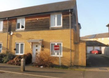 Thumbnail 3 bed property to rent in Coppen Road, Hampton Vale, Peterborough