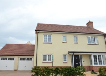 Greenhouse Gardens, Cullompton, Devon EX15. 4 bed detached house