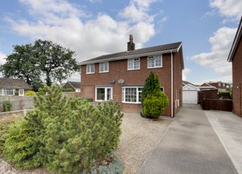 Roman Avenue South, Stamford Bridge, York YO41. 3 bed semi-detached house