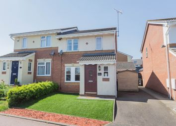 Thumbnail 3 bed semi-detached house for sale in Ringwell Close, Irthlingborough, Wellingborough