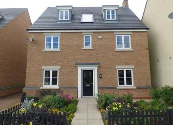 Thumbnail 5 bed detached house for sale in Digby Close, Duston, Northampton, Northamptonshire