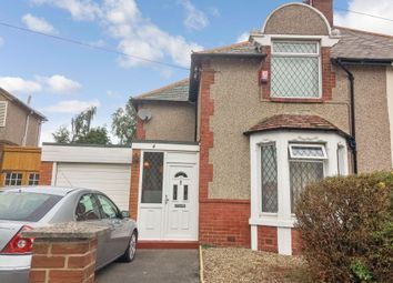 Thumbnail 3 bed semi-detached house for sale in Laburnum Avenue, Walkerville, Newcastle Upon Tyne