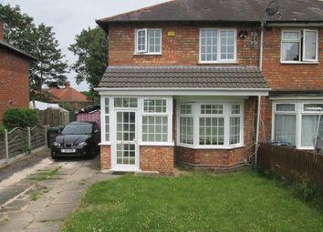 Thumbnail 2 bed semi-detached house to rent in Leysdown Grove, Birmingham