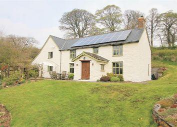 Thumbnail 4 bed farmhouse for sale in Llanbadarn Fynydd, Llandrindod Wells