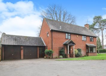 Thumbnail 4 bed detached house for sale in Batts Park, Taunton