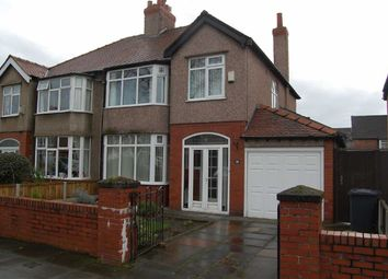 Thumbnail 3 bed town house for sale in Brentwood Avenue, Crosby, Liverpool