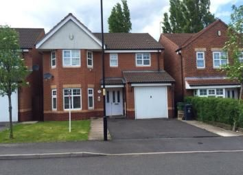 Thumbnail 4 bedroom detached house to rent in Yale Road, Willenhall
