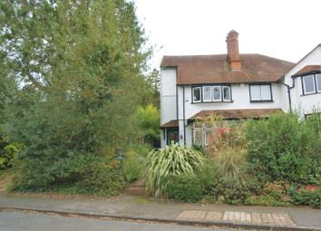 Thumbnail 3 bed semi-detached house to rent in Raleigh Drive, Claygate, Surrey