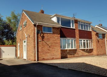 Thumbnail 3 bed semi-detached house for sale in Kilvin Drive, Beverley