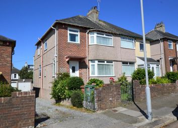 Thumbnail 3 bedroom semi-detached house to rent in Parker Road, Plymouth, Devon