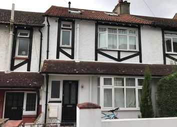 Thumbnail 1 bed terraced house to rent in Barnett Road, Brighton