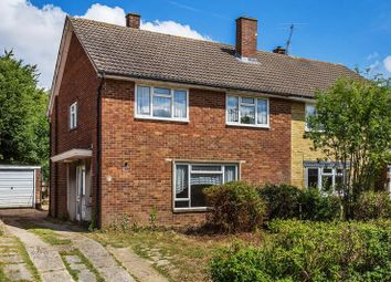 Thumbnail 4 bed semi-detached house for sale in Theydon Close, Furnace Green, Crawley, West Sussex