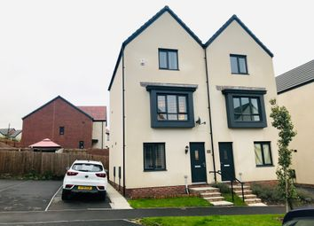 Thumbnail 3 bed semi-detached house for sale in Heol Booths, Old St. Mellons, Cardiff