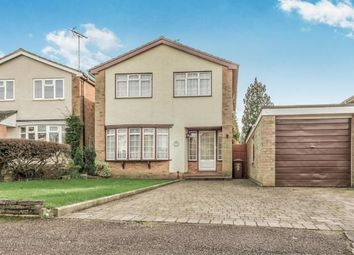 Thumbnail 3 bedroom detached house for sale in Dryden Crescent, Stevenage, Hertfordshire, England