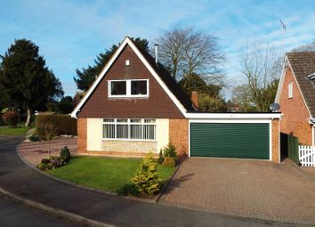 Thumbnail 3 bed detached house for sale in Beech Close, Haughton, Stafford