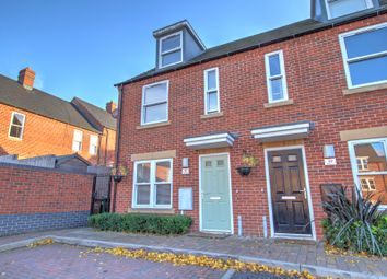 Thumbnail 3 bed town house for sale in Majestic Place, Swadlincote
