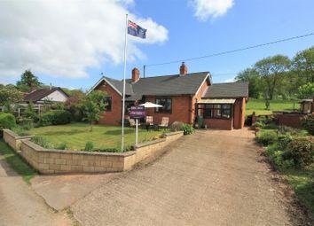 Bromyard Road, Ledbury HR8. 2 bed detached bungalow