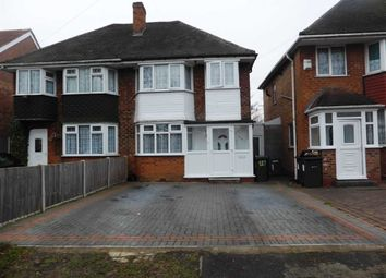 Thumbnail 3 bedroom semi-detached house for sale in Hodge Hill Road, Hodge Hill, Birmingham