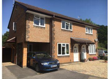 Thumbnail 4 bed semi-detached house for sale in Roseleigh Drive Ashurst Bridge, Totton Southampton