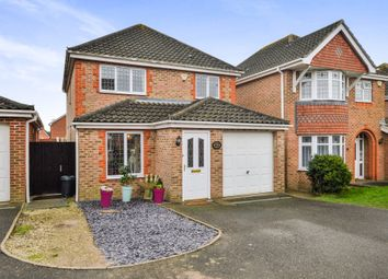 Thumbnail 3 bed detached house for sale in Romulus Gardens, Kingsnorth, Ashford
