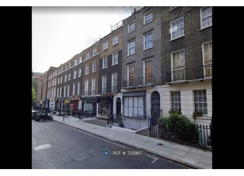 Thumbnail 1 bed flat to rent in Leigh Street, London