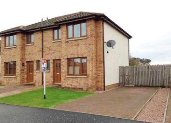 Thumbnail 3 bed semi-detached house to rent in Newton Place, East Wemyss, Kirkcaldy