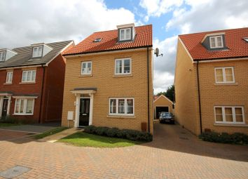 Thumbnail 4 bed property to rent in Bridge Farm Close, Mildenhall, Bury St. Edmunds