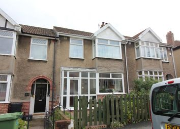 Thumbnail 3 bed terraced house for sale in Heyford Avenue, Eastville, Bristol