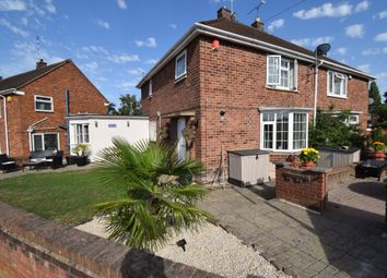 Thumbnail 4 bed semi-detached house for sale in Kirminton Gardens, Thurnby Lodge, Leicester